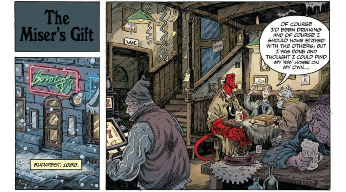 Hellboy Winter Special 2019 Review - The Miser's Gift