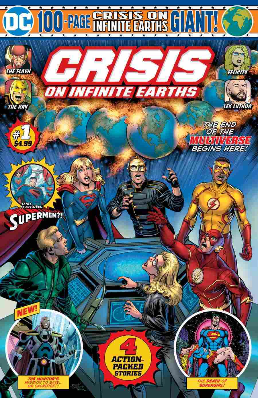 Crisis on Inifnite Earths Giant #1